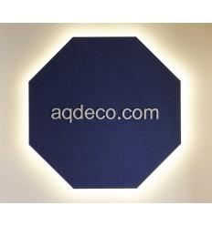 AQp18 - AQsorb Polygon Large Backlit LED