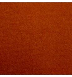 Lerfarvet uldfilt 5mm (180x500 cm)