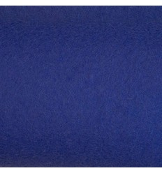 Blå uldfilt 3mm (152x180 cm)