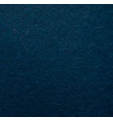 Petroleumsblå uldfilt 5mm (180x380 cm)