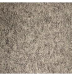 Gråmeleret uldfilt 5mm (58x568 cm)
