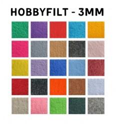 Hobbyfilt - 3mm