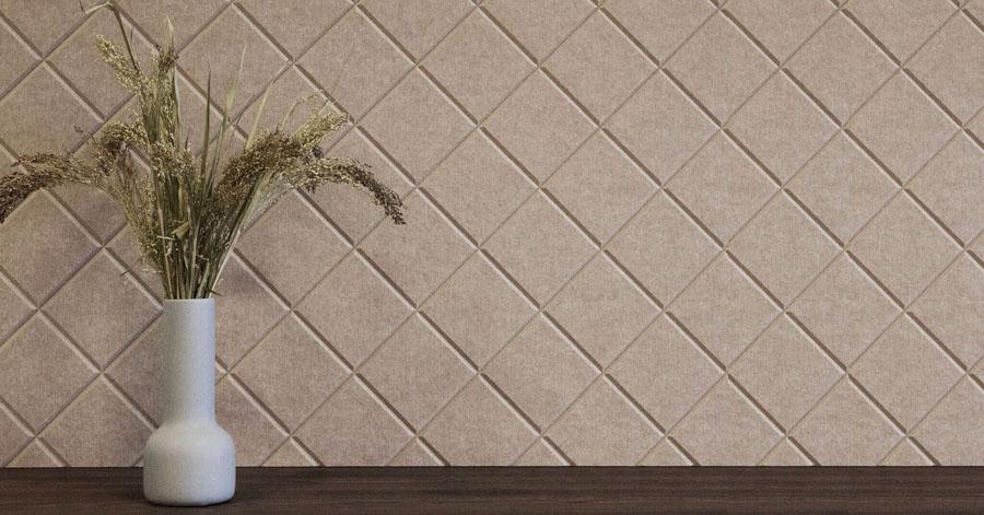 Bæredygtig og dekorativ akustikplader til lydabsorberende indretning