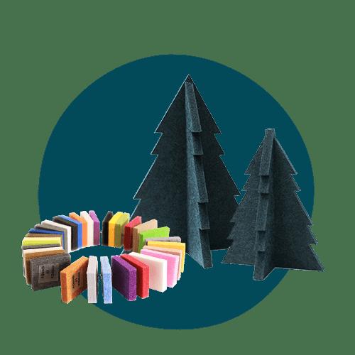 Aqdeco bæredygtig juletræ
